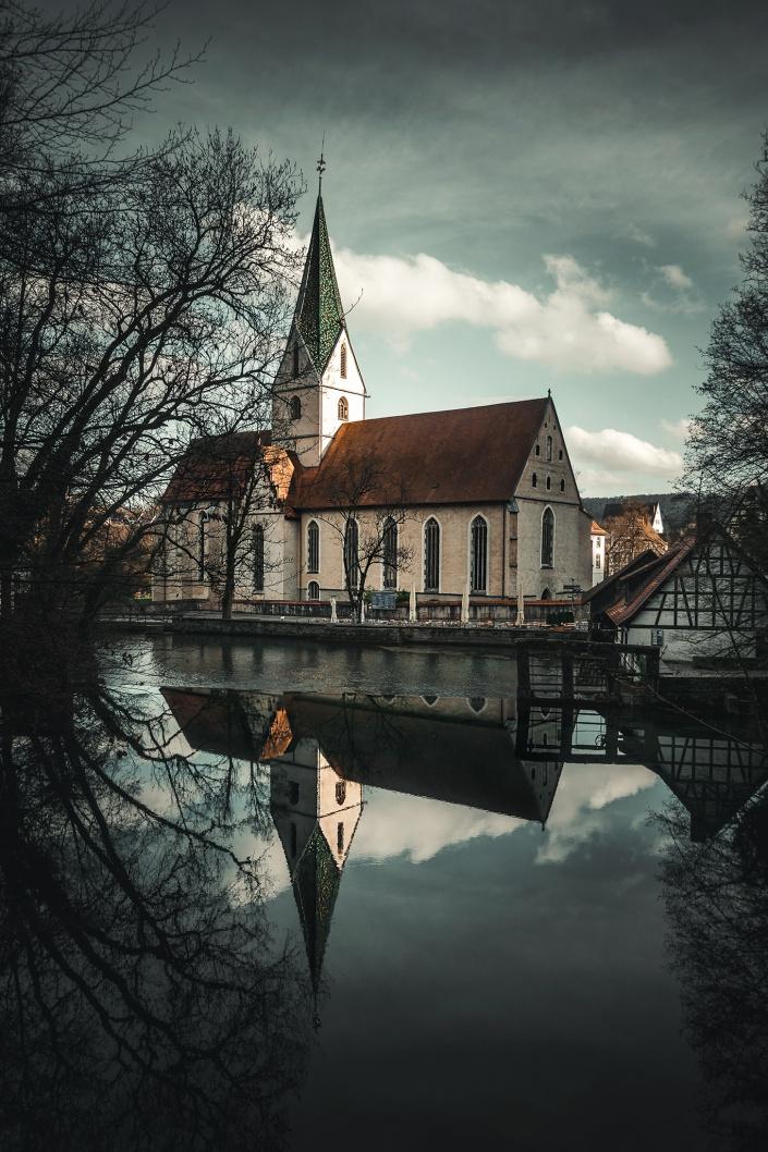 blaubeuren, blautopf, kloster, deutschland, baden-wuerttemberg, ulm, kirche,